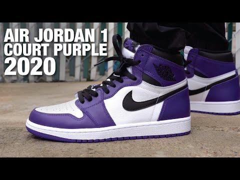 Air Jordan 1 Court Purple 2020 Review & On Feet