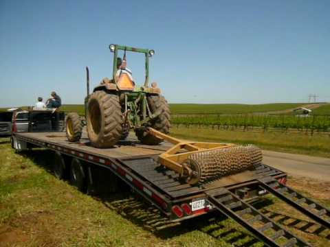 How to unload a ring roller at Bokisch Ranches