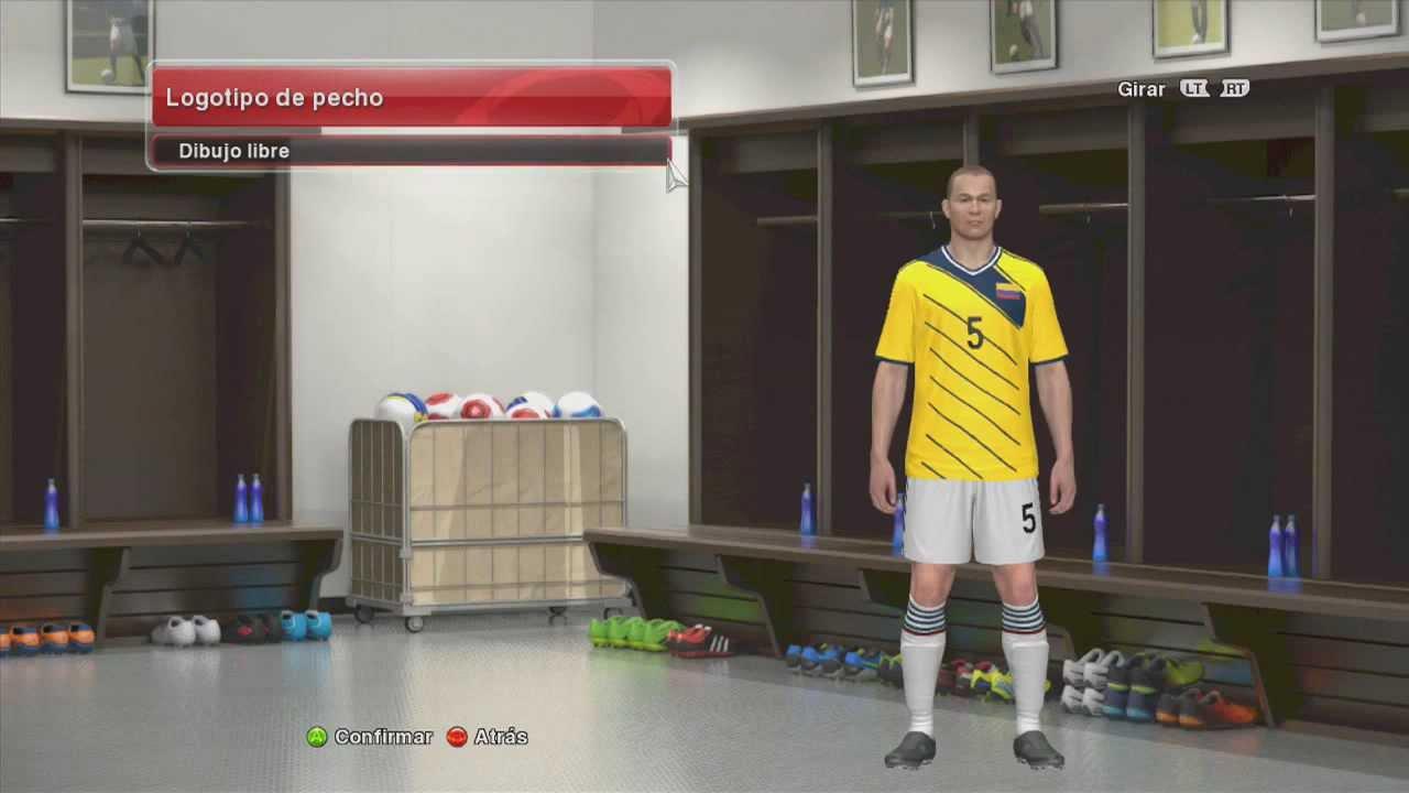 382bba85d8 Modo Edición - Como Crear el Nuevo Uniforme de la Selección Colombia PES 2014  para el Mundial - YouTube
