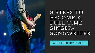 Looking to build a career in music as a singer/songwriter? Here are...