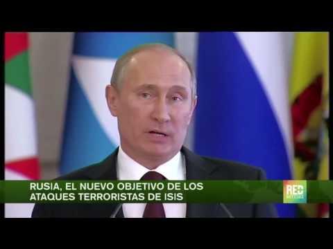 ISIS amenaza con lanzar ataques en Rusia