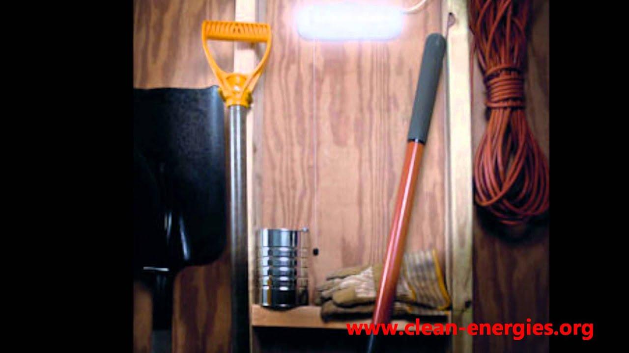 Maxsa Solar Shed Light Indoor Solar Lights Youtube