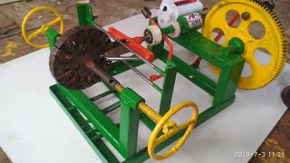 new video home made celling fan rewinding machines