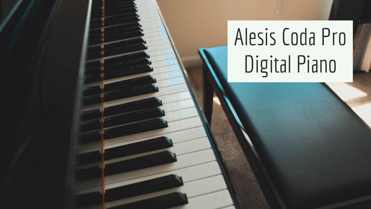 alesis coda pro 88 key digital piano review youtube. Black Bedroom Furniture Sets. Home Design Ideas