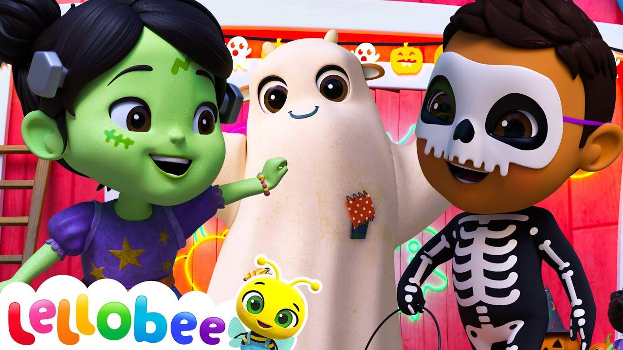 Trick Or Treat - @Lellobee City Farm - Cartoons & Kids Songs | Nursery Rhymes | Moonbug Kids