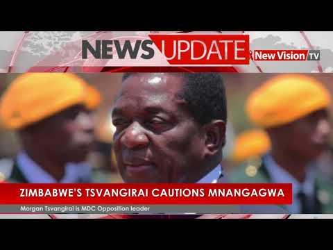 Zimbabwe's Tsvangirai cautions Mnangagwa