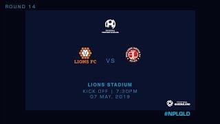 NPL R14 - Lions FC vs Redlands United