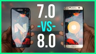 Android 8.0 Oreo for the Galaxy S7 edge: What Changed from 7.0?