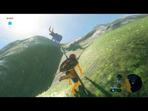The Legend of Zelda: Breath of the Wild [Part 20] - Link's Wet Climbing Adventures!