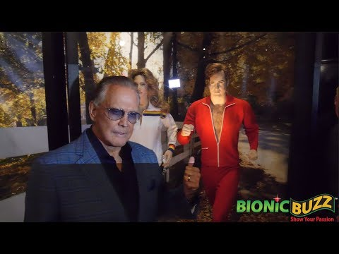 Six Million Dollar Man Unveiling w/ Lee Majors at The Hollywood Museum