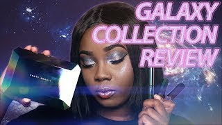 Fenty Beauty Galaxy Collection Review & Tutorial + Galaxy Palette Swatches