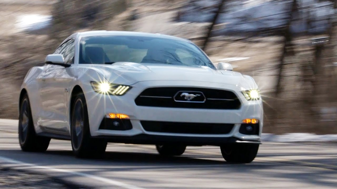First Ride 2015 Mustang 50th Anniversary Edition  YouTube