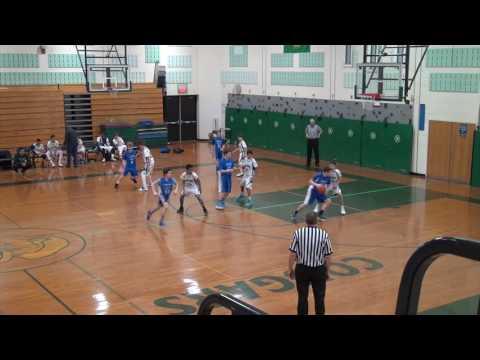 Montgomery Middle School B Ball 2 11 17