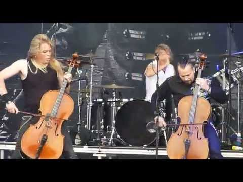 Apocalyptica : Refuse Resist + God Save The Queen @ Download Festival 2015