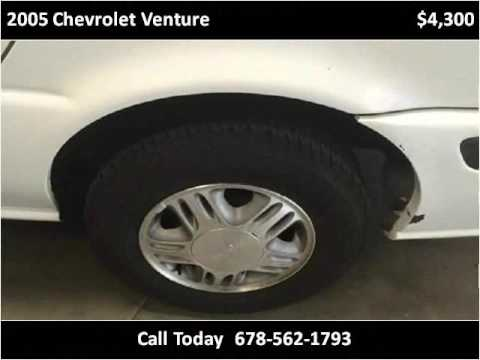 2005 Chevrolet Venture Used Cars Conyers GA