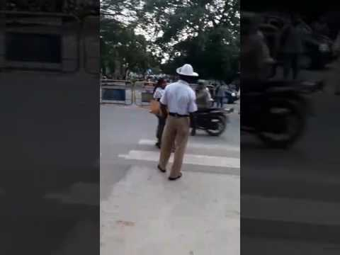 Mysore district traffic police and corruption Karnataka of India