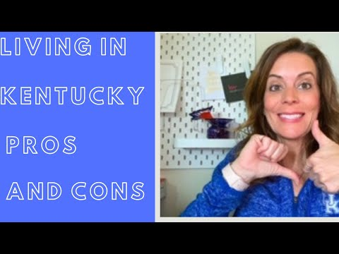 LIVING IN KENTUCKY PROS AND CONS