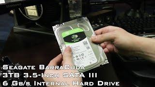 Unboxing - Seagate BarraCuda 3TB 3.5-Inch SATA III 6 Gb/s Internal Hard Drive