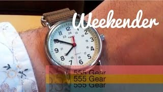 "Review: Timex Weekender Wristwatch ""Quintessential Timex Style & Value"""
