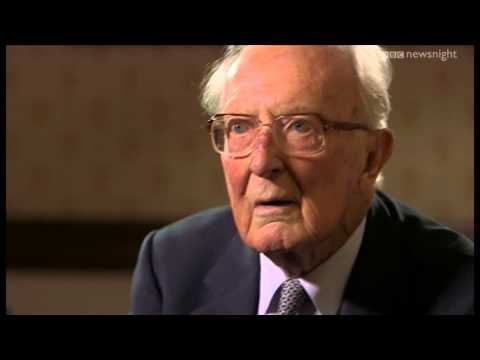 The last living member of Winston Churchill's government: Lord Carington - Newsnight