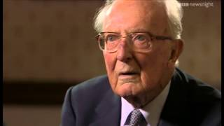 The last living member of Winston Churchill's government: Lord Carrington - Newsnight