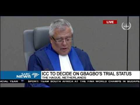 ICC gives ruling on Laurent Gbagbo
