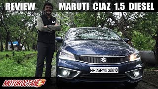 2019 Maruti Ciaz 1.5 Diesel Review | Hindi | MotorOctane