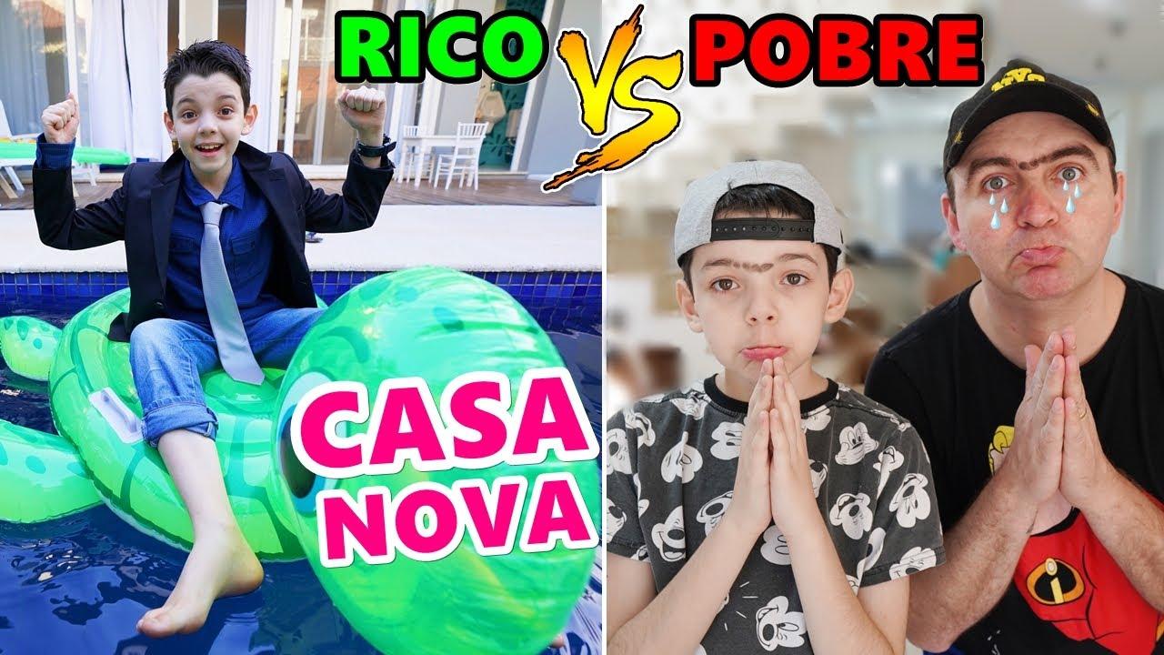 Download RICO VS POBRE PIERO START NOVA MANSÃO!
