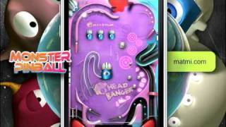 Monster Pinball for the iPhone and iPod Touch