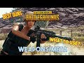 PUBG: Tips & Tactics Pt. 6: Weapon Choices/Meta - AR Guide and ANALYSIS/IRL GUNS (PC/XBOX)