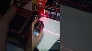 обзор Лазерного невелира ADA CUBE 3D HOME EDITION