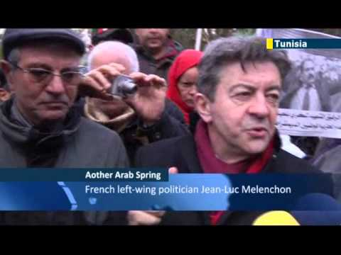 French socialist predicts Mediterranean Spring: Melenchon says Arab Spring will reach EU