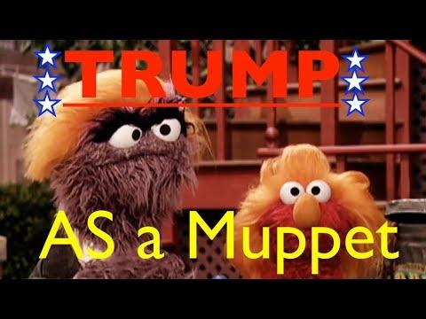 Donald Trump As A Muppet