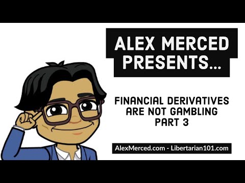 Financial Derivatives are Not Gambling Part 3 - Mortgage/Asset Backed Securities