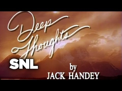 Deep Thoughts: Yodeling - Saturday Night Live