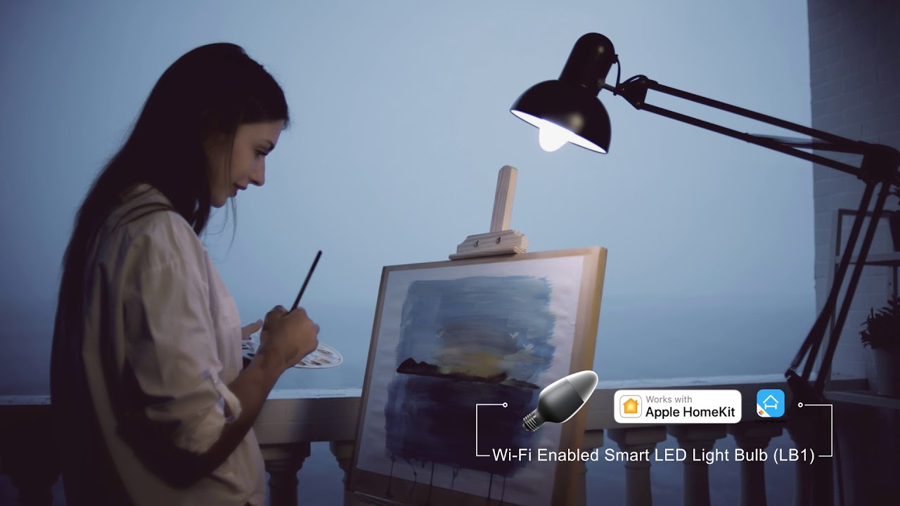 Wi-Fi Enabled Bulbs, Koogeek Smart Light, WiFi Enabled E27 Light Bulb