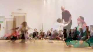 A Study in Observing Contact Improvisation: Three Duets - with music added