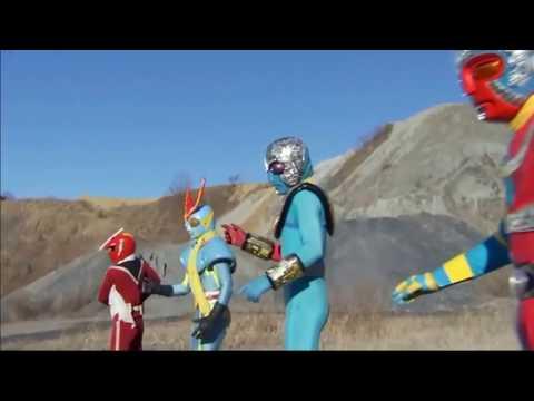 Kikaider,Kikaider 01, Inazuman and Zubato