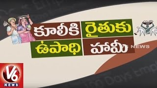 Special Story On Employment Guarantee Scheme   MGNREGS   Spot Light   V6 News