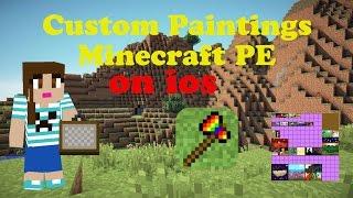 Custom Paintings Minecraft Pe