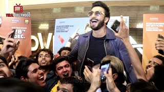 Ranveer Singh Electrifying ENTRY At Simmba Trailer Launch | fans Gone Crazy #Simmba