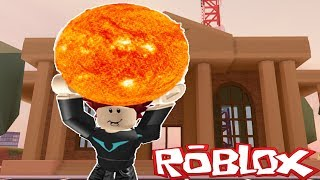 ROBLOX ROB THE SUN! Jailbreak