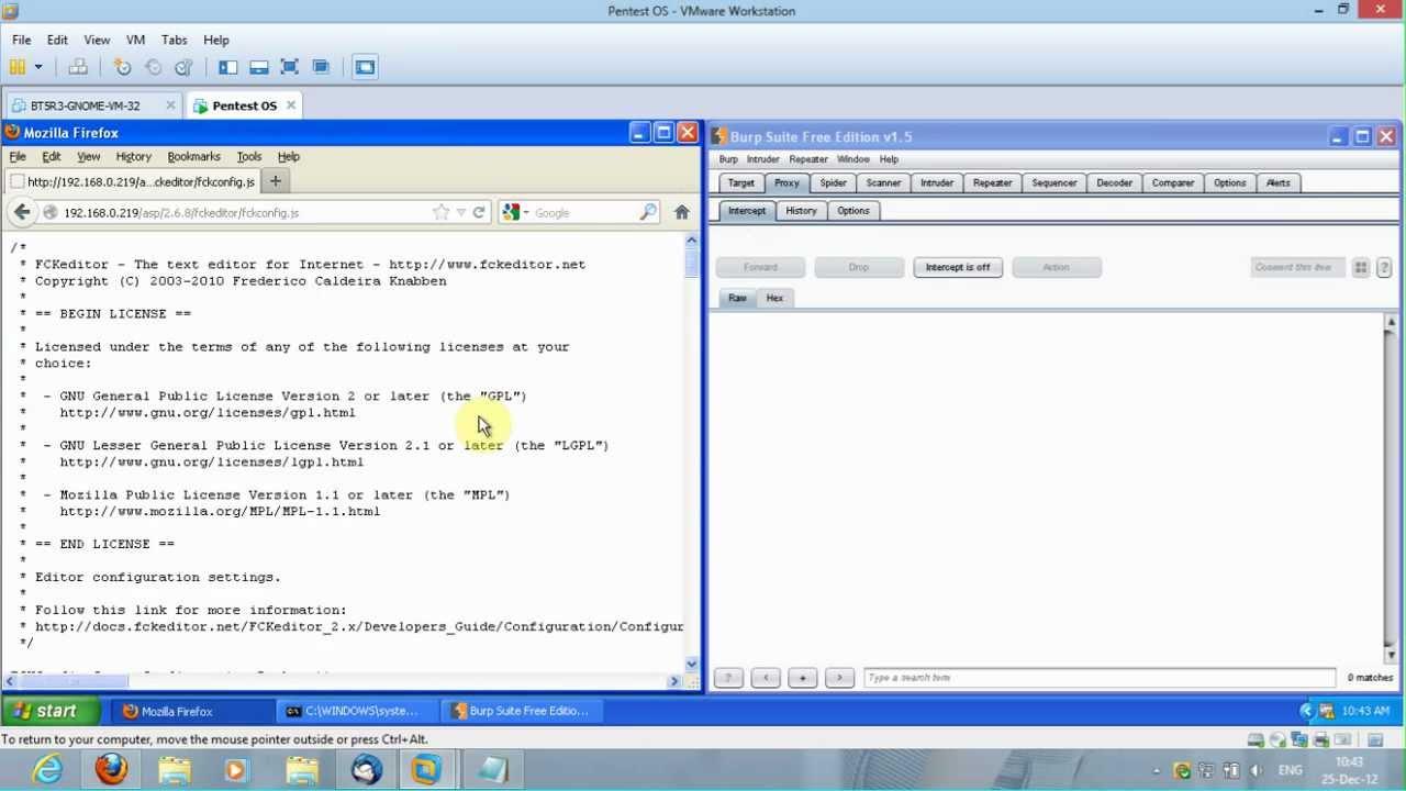 FCKeditor 2 6 8 ASP upload Bypass
