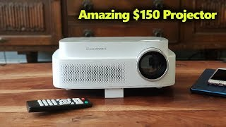 $150 Projector From China That Handles Ambiant Light | GearBest Q7 Review