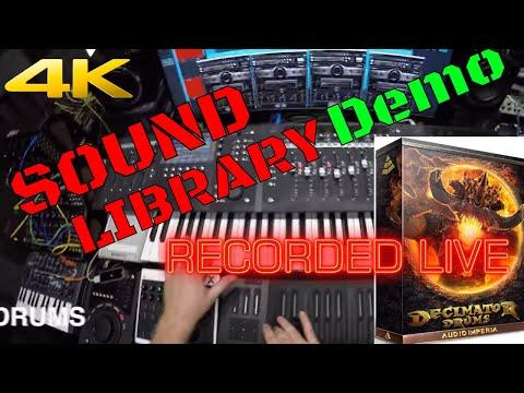 "Audio Imperia Decimator Drums - Mythix demo ""Rampage"" [4k]"