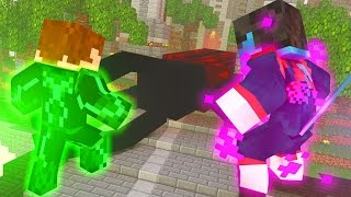 Minecraft: NOTURNO & LANTERNA VERDE VS HERCULES BETTLE [ Project Superhuman Mod ]