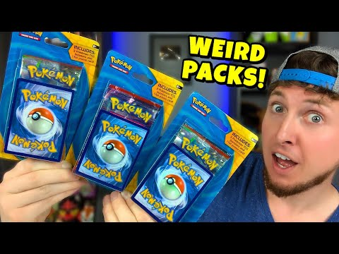 😯BUYING WEIRD TARGET PACKS - Opening Pokemon Cards Searching For Ultra Rares!