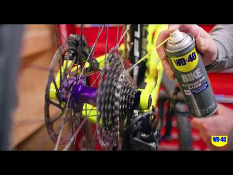 How To Protect Your Bike Chain With WD-40 BIKE® All-Conditions Lube