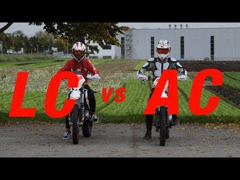 Beta RR 125 LC vs AC | The BATTLE | (+Yamaha WR & Honda CRM) | X-Racing