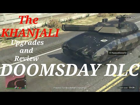 DOOMSDAY DLC  KHANJALI TANK REVIEW GTA 5 Online Live Stream